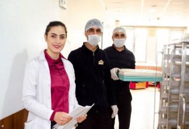 Can Hastanesi'nde yemekler diyetisyen kontrolünden geçiyor
