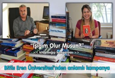 Bitlis Eren Üniversitesi'nden anlamlı kampanya