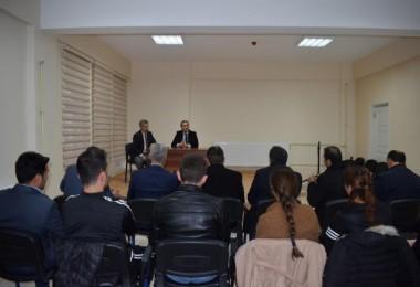 """Mutki Kaymakamı Mehmet Kılıç, """"Gençlere yönelik her çalışmanın destekçisiyiz"""" dedi"""