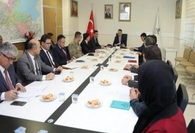 Bitlis'te 'Aile İçi ve Kadına Karşı Şiddetle Mücadele' toplantısı yapıldı