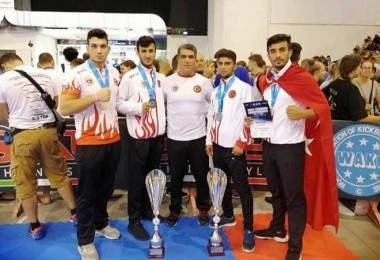 Bitlisli sporcular dünya ikincisi ve dünya üçüncüsü oldu