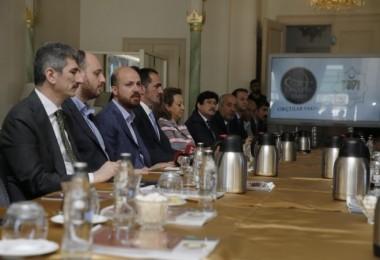 BEÜ Rektörü Malazgirt Zaferi kutlamaları için Bilal Erdoğan'ın bulunduğu toplantıya katıldı