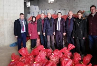 Ahlat'taki sertifikalı patates tohumluğu depoları kontrol edildi