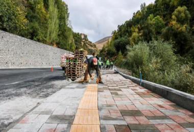 Bitlis'te Engelli Dostu Modern Kaldırım dönemi