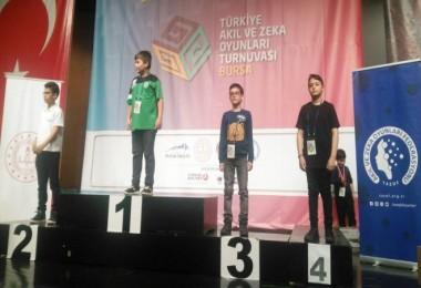 Tatvanlı öğrenci Türkiye 3'üncüsü oldu