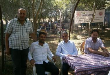 TAŞGAD'dan şehit ve gazi yakınlarına yönelik piknik etkinliği
