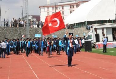 BEÜ'nün 11. dönem mezunları coşkuyla uğurlandı