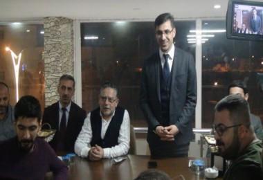 Başkan Tanğlay, Bitlis'teki gazeteciler ile bir araya geldi