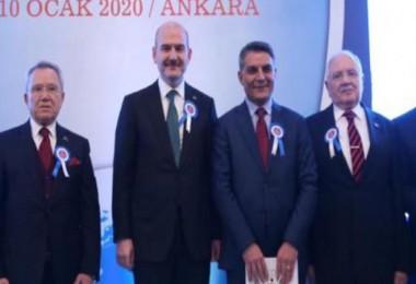 Kaymakam Özkan'a 'Yılın İdarecisi' ödülü verildi