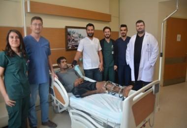 Tatvan'da kemik birleştirme ameliyatı yapıldı