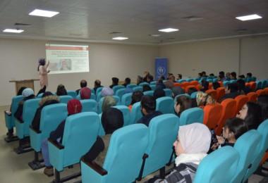 Tatvan'da 'Kadına Yönelik Şiddetle Mücadele' konulu seminer düzenlendi