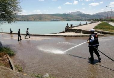 Tatvan'da temizlik kampanyası devam ediyor