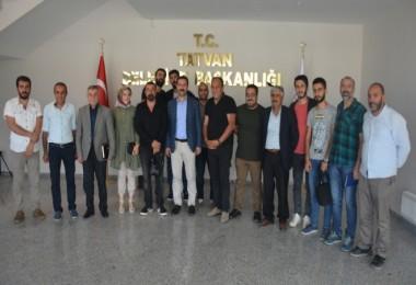 Tatvan Belediyesi'nde basın toplantısı düzenlendi
