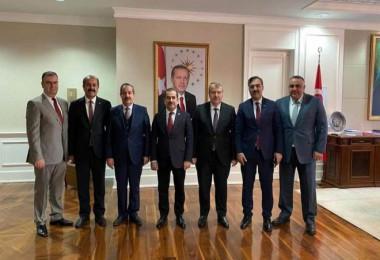 Bitlis ekibi Sağlık Bakanlığı'nı ziyaret etti