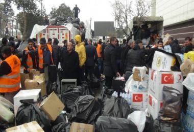 Tatvan Belediyesi depremzedeler için yardım kampanyası başlattı