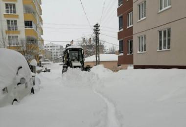 Tatvan'da kar kalınlığı 2 metre