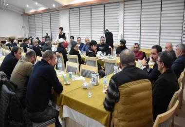 Başkan Geylani, Bitlis'teki gazeteciler ile bir araya geldi