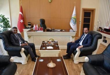Kaymakam Özkan'dan Başkan Geylani'ye ziyaret