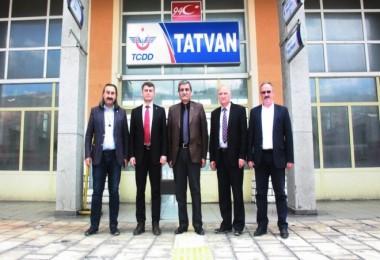 Tatvan'a Trans Asya ve Van Gölü Ekspresimüjdesi