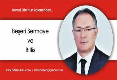 Beşeri Sermaye ve Bitlis