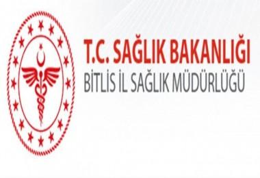 Bitlis Sağlık Müdürlüğü, ishal vakalarından dolayı vatandaşları uyardı