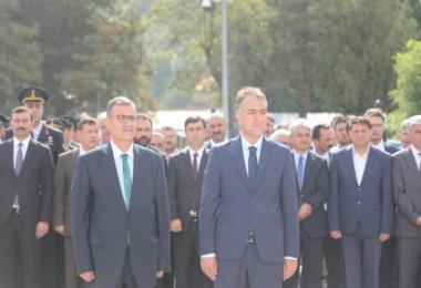 Bitlis'te, 30 Ağustos Zafer Bayramı törenle kutlandı