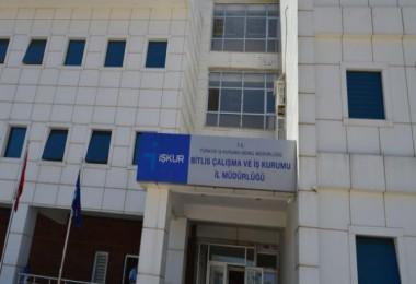 Bitlis Çalışma ve İş Kurumu İl Müdürlüğü duyurusu