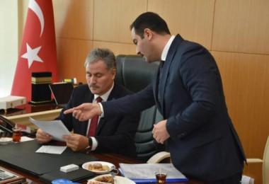 Malatya Milletvekili Çakır Tatvan Belediyesi'ni ziyaret etti