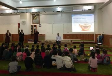 Kur'an Kursu öğrencilerine ağız ve diş taraması yapıldı