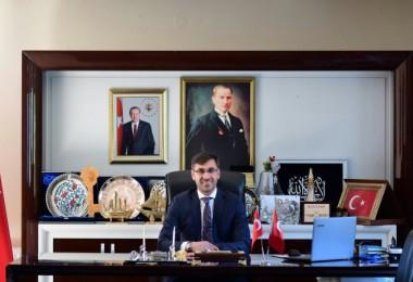 """Başkan Tanğlay'ın """"Cumhuriyet Bayramı"""" mesajı"""