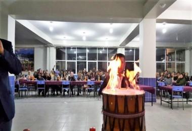 Hizan'da öğretmenler için sıra gecesi düzenlendi