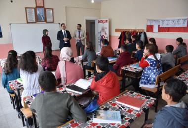 Tatvan Belediyesi, Kıyıdüzü İlkokulu'na kütüphane kurdu