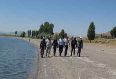 Van Gölü çevresinde 430 kilometre yürüyecekler
