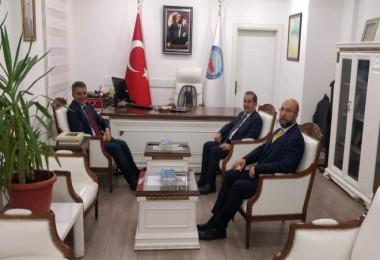 Milletvekili Taşar'dan Kaymakam Özkan'a ziyaret