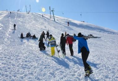 Rahva Kayak Merkezi'ne yoğun ilgi