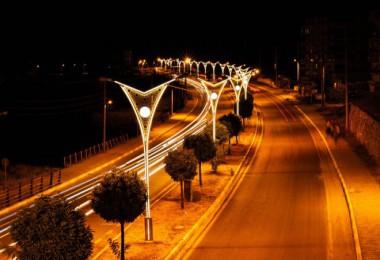 Bitlis'e modern aydınlatma sistemi