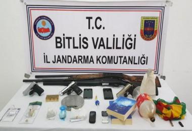 Bitlis'te Narko-Kıran 13 Operasyonu ile 40 gözaltı