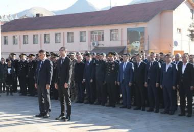 Bitlis'te 10 Kasım Atatürk'ü Anma Töreni düzenlendi
