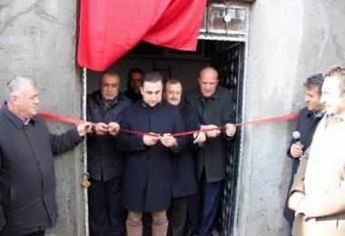 Güroymak'ta 600 tonluk su deposunun açılışı yapıldı