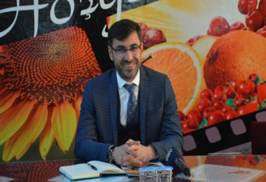 Başkan Tanğlay, Bitlis'teki basın mensuplarıyla toplantı düzenledi