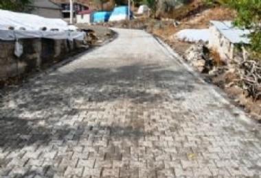Günkırı Belediyesi yol yapım çalışmalarını sürdürüyor