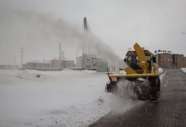 Bitlis'te kar, çile olmaktan çıktı