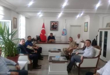 15 Temmuz Demokrasi ve Milli Birlik günü programı için toplantı yapıldı
