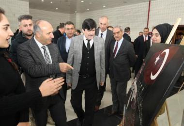 BEÜ'de Güzel Sanatlar Lisesi öğrencilerinden resim sergisi ve konser programı