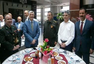Tatvan'da bayramlaşma töreni düzenlendi