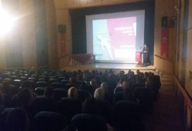 Tatvan'da Madde Bağımlılığı semineri düzenledi