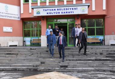 Başkan Geylani, Kültür Merkezin'de incelemelerde bulundu