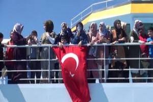 Denizcilik bayramı Tatvan'daki Türkiye'nin en büyük feribotunda kutlandı - Bitlis Bülten