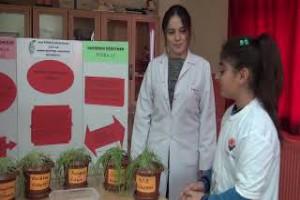 TÜBİTAK Bilim Fuarı'nda kaz gübresinin verimliliği gözlendi - Bitlis Bülten