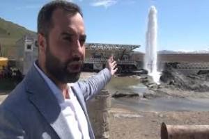 Tatvan'da 60 derecelik termal su kaynağına ulaşıldı - Bitlis Bülten